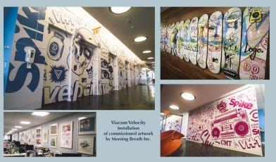 Viacom Installation Artwork by Morningbreath Inc.