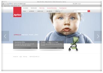 aprica web2
