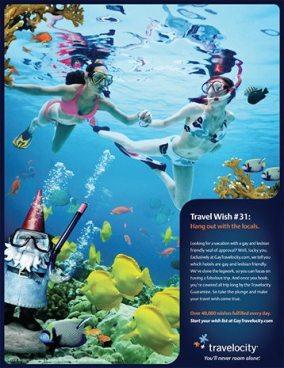 travelocity scuba